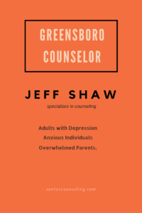 Greensboro Counselor Jeff