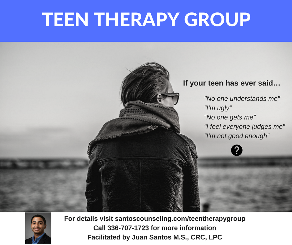Greensboro Teen Therapy, Group Therapy Teen, Group Therapy, 27410 Group Therapy Teen