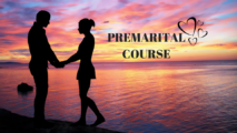 Couple Holding Hands on a Beach after a Couples Therapy Premarital preparation course